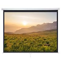 HONXIN 120 inches 4: 3 manual self-locking curtains Projector curtains Projector curtains Screen projection curtains