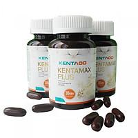 Combo 4 Hộp Thực phẩm chức năng tăng cân Kentamax Plus - Tăng Cân An Toàn Từ Thảo Dược Thiên Nhiên