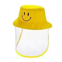 Kids Hat Detachable Transparent Anti-dust Cover Sun Dustproof Outdoor Hats Removable for Children Boys Girls Toddlers