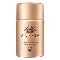 Sữa Chống Nắng Kiềm Dầu Khô Thoáng Anessa Perfect UV Sunscreen Skincare Milk Spf50+ Pa++++ (20ml)