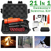 SOS Emergency Survival Equipment Kit Sports Tactical Hiking Camping Outdoor Tool