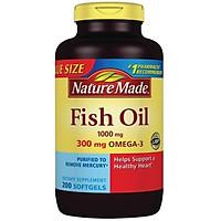 Thực phẩm bảo vệ sức khỏe Dầu cá  Naturemade Fish Oil