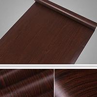 5m giấy decal cuộn vân gỗ nâu DTL47(60x500cm)