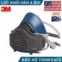Mặt nạ phòng độc 3M HF52 mặt nạ lọc bụi, lọc hơi/khí độc (HF52-3744-3700)