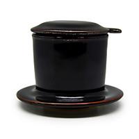 Phin cà phê  Đông Gia - đen bóng Tenmoku 47