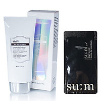 Kem Chống Nắng Cho Da Nhạy Cảm Dear, Klairs Soft Airy UV Essence SPF50+ PA++++ 80ml + Tặng kèm 1 mặt nạ sủi bọt thải độc Su:m 37 Đen