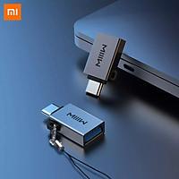 Xiaomi Mijia Youpin MiiiW Adapter Type-C Ra Không Gian Xám USB3.0 Giao Diện Nguồn Điện Truyền Tải Với Dây Buộc Thông Minh nhà