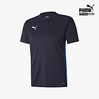 PUMA - Áo thun thể thao cổ tròn tay ngắn phom unisex Teamsport 656811-02