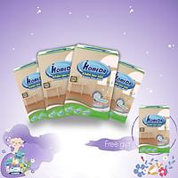 Combo 4 Tặng 1 Hộp Khăn lau sàn hút bụi tĩnh điện Ihomeda ( 25 khăn/ hộp) - Combo 4 Free 1 iHomeda static dusting floor dry wipes ( 25 sheets/ box)