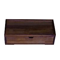 Hộp đựng muỗng đũa nhà hàng quán ăn cao cấp bằng gỗ, hộp đựng đũa thìa Nhatvywood NV5320