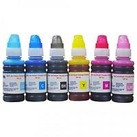 Bộ 6 màu Mực in phun Thuận Phong TP51 dùng cho máy in phun Epson L800 / L801 / L805 / L810 / L850 / L1800 - Hàng Chính Hãng