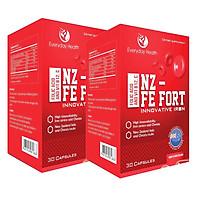 Hai hộp thực phẩm FE FORT bổ sung dinh dưỡng cho mẹ