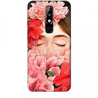 Ốp lưng dành cho điện thoại NOKIA 5.1 Plus Nàng Hoa