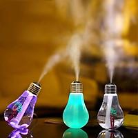 Đèn xông tinh dầu phun sương hình bóng đèn