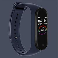 Vòng đeo tay thông minh đo nhịp tim, theo dõi giấc ngủ, thể thao, báo tin nhắn, cuộc gọi phiên bản 2019  M4A