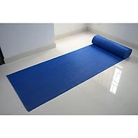 Thảm nhựa chống trơn trượt khổ 1m2 màu xanh dương sử dụng lót sàn xe, khu vực dầu mỡ, dễ trơn trượt, hồ bơi, toilet, sân ướt (Hàng Việt Nam)