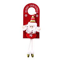 Móc Treo Nắm Cửa Trang Trí Giáng Sinh Siêu Dễ Thương 43.5x14cm