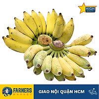 [Chỉ Giao HCM] - Chuối Xiêm Đà Lạt (1.4Kg/Nãi) - Quả ngắn, thân mập. Vị ngọt và hương thơm đặc biệt hơn chuối thường