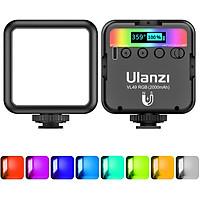Đèn Led Ulanzi VL49 RGB Fill Light, Đổi Được Nhiều Tone Màu Quay Phim & Chụp Ảnh, Tích Hợp Pin Sạc Đa Năng - Hàng Chính Hãng