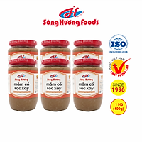 6 Hũ Mắm Cá Sặc Xay Sông Hương Foods Hũ 400g