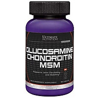 Viên Hỗ Trợ Xương Khớp Glucosamine Chondroitin MSM Ultimate Nutrition SMUN608 (90 Viên)