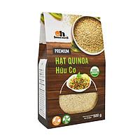 Hạt Quinoa (Diêm mạch) Smile Nuts hộp giấy 500g - Quinoa Seed Smile Nuts 500g