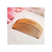 Lược gỗ Đào thiên nhiên ngăn ngừa rụng tóc