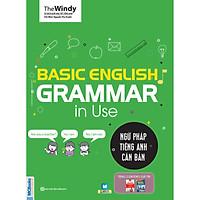 Ngữ Pháp Tiếng Anh Căn Bản - Basic Grammar English Grammar  In Use (Tặng Thẻ Flashcard Động Từ Bất Quy Tắc Trong Tiếng Anh) (Học Kèm App: MCBooks Application)