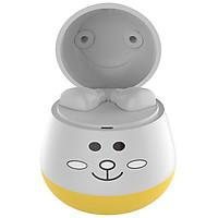 ZW-T7 Cute Pet TWS True Wireless BT Earphone Stereo Half In-ear Girls Headphone for IOS/Android White