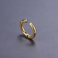 Bông tai kẹp vành khoen tròn kiểu dáng ST HOT cá tính nam nữ