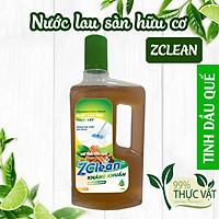 Nước lau sàn thực vật tinh dầu quế ZCLEAN