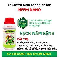 VƯỜN SINH THÁI chăm sóc cây trồng - Thuốc trừ nấm bệnh sinh học neem nano - Sạch thán thư, rỉ sắt, thối nhũn, đốm đen, héo xanh, phấn trắng - Chiết xuất 100% Thiên Nhiên