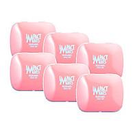 [combo 6 hộp] Kẹo bạc hà không đường Impact Mints - hương đào 14g (tặng kèm 6 gói Tempo)
