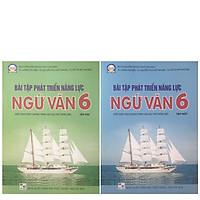 Combo Sách Bài Tập Phát Triển Năng Lực Ngữ Văn 6 Tập 1 + Tập 2 (Biên Soạn Theo Chương Trình Giáo Dục Phổ Thông Mới)