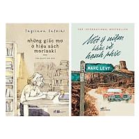 Combo 2 Cuốn Tiểu Thuyết Lãng Mạn Cực Hay: Những Giấc Mơ Ở Hiệu Sách Morisaki + Một Ý Niệm Khác Về Hạnh Phúc (Tái Bản) / Những Cuốn Tiểu Thuyết Bán Chạy Nhất Tháng (Tặng Bookmark Happy Life)