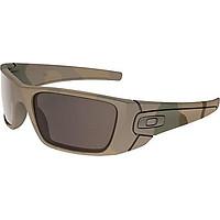 Oakley Men's OO9096 Fuel Cell Rectangular Sunglasses