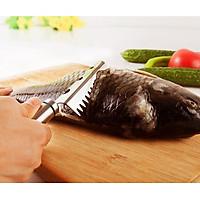 Cây đánh vải cá Inox 304 cao cấp - 20x3.2cm