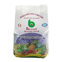 Phân bón NPK Better tím 16-12-8-11 (1kg/gói) | Chuyên dùng mọi loại cây trồng giai đoạn ra hoa, dưỡng trái | Tăng sức đề kháng cho cây trồng
