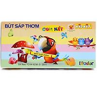 Bút Sáp Thơm Chim Két KidKit BST-004 (18 Màu)
