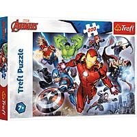 Tranh ghép hình puzzle Avenger 200 mảnh Biệt đội siêu anh hùng Trefl 13260