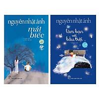 Combo 2 Cuốn Sách Của Nguyễn Nhật Ánh: Mắt Biếc (Tái Bản 2019) + Làm Bạn Với Bầu Trời - Tặng Kèm Bookmark Happy Life