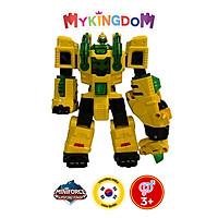 Đồ Chơi Mô Hình MINIFORCE Robot Siêu Khủng Long Brachio Cuồng Phong Cùng Siêu Nhân Max 304037