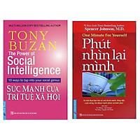 Combo Kỹ Năng Sống Đẹp: Tony Buzan - Sức Mạnh Của Trí Tuệ Xã Hội + Phút Nhìn Lại Mình (Bộ 2 Cuốn Sách Được Độc Gỉa Yêu Thích Nhất)