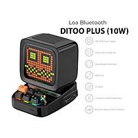 Loa bluetooth Divoom Ditoo Plus 10W - Hình dáng máy tính cổ, màn hình LED 256 Full RGB, tích hợp nhiều tính năng trên app Divoom - HÀNG CHÍNH HÃNG