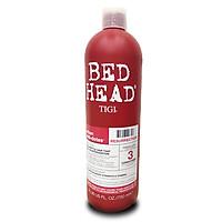 Dầu Xả Tigi Bed Head Urban Antidotes Resurrection  Conditioner phục hồi tóc cấp độ 3 (Màu đỏ) Mỹ 750ml