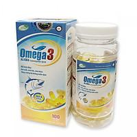 Thực phẩm chức năng: Viên uống bổ sung omega 3 Coenzym Q 10 (100 Viên)