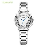 Đồng hồ Nữ SUNMATE S20022LA Máy Pin (Quartz) Dây Thép Không Gỉ