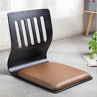 Ghế bệt gỗ ghế tựa lưng phong cách Nhật nệm dày 4cm