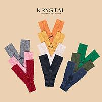 Quần lót ren lọt khe chữ Y sexy gợi cảm màu trơn KRYSTAL KQY01