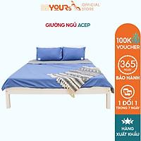 Giường Ngủ Gỗ Thông Minh BEYOURs Acep Bed Nội Thất Kiểu Hàn Lắp Ráp Phòng Ngủ